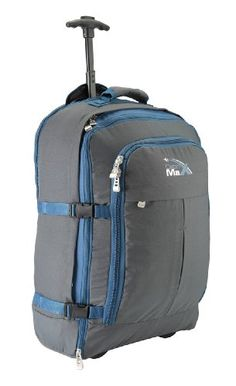 Malmo (Bagage cabine de voyage extensible multifonction Cabine Max Malmo 55x40x25cm 44litres)