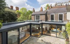 Gallery portfolio for ODC Door & Glass Systems. Bespoke designs and installations of premium ranges of glass structures, folding doors, & rooflights. Need Ideas & Inspiration take a look at these examples Chalet Extension, Orangery Extension, House Extension Plans, Cottage Extension, House Extension Design, Glass Extension, Extension Designs, Roof Extension, House Design