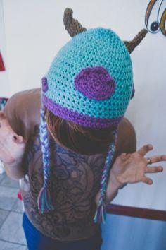 Sully Inspired Monsters Inc. Pixar Crocheted Beanie