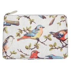 Garden Birds Paris Cosmetic Bag | CathKidston