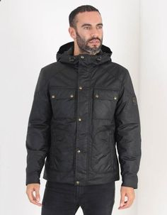 c9f2bb9b Belstaff Black Ravenswood Belstaff Jackets, Winter Essentials, Bonfire  Night, Raincoat, Layering,