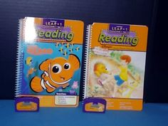 "2 DISNEY  Leap Pad-Frog/Leap 1 - ""Finding Nemo & Pooh Gets Stuck"" Preschool  4-6 #LeapPad"