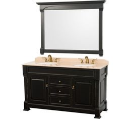 The beautiful Andover bathroom vanity series represents an updated take on traditional styling. The Andover is a keystone piece, with strong, classic lines and an attention to detail.