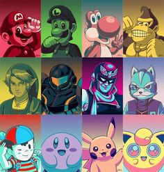 Smash Bros. by Red-Flare at DeviantArt