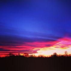 #Sunset.  (presso Vittuone)