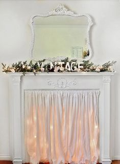 Decorate An Empty Fireplace