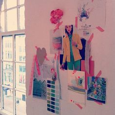 34934106744a like the look of this wall inspiration with colored tape