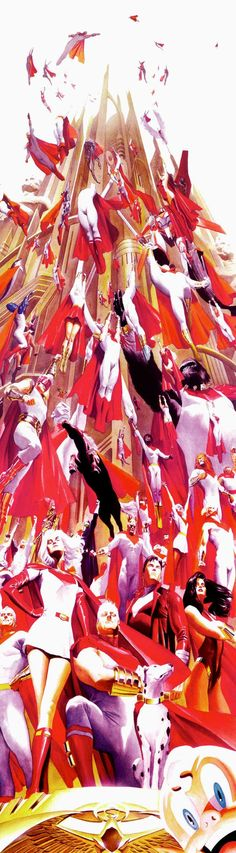 Supremacy//Other Art/Alex Ross/ Comic Art Community GALLERY OF COMIC ART