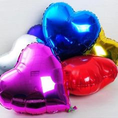 """10 шт./лот в форме сердца - в форме воздушные шары на день рождения свадьба ну вечеринку украшения украшены 10 """" любовь # ZH105"""