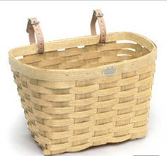 bicycle basket, a summer classic, made in the USA, $45
