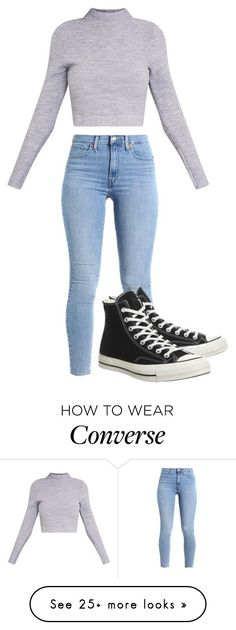 """Angry"" by johnnapaige21 on Polyvore featuring Converse"