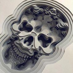 A bela arte com recortes de papel, por Patrick Cabral - Com um nível de detalhes surpreendente, Patrick Cabral cria diversas formas com recortes de papel que enche nossos olhos.