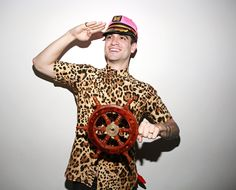 He's driving a gay ship. It's called Ryden.
