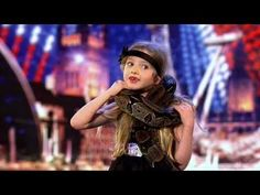 Olivia Binfield - Britain's Got Talent 2011 Audition - International Version -love the look on her face!