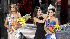 26-year-old Filipino-German actress and model Pia Alonso Wurtzbach was crowned Miss Universe 2015... after Miss Columbia had worn it first – Photograph by Steve Marcus/REUTERS