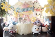 Tick tock tick tock. Its tsum tsum kind of day! | CatchMyParty.com