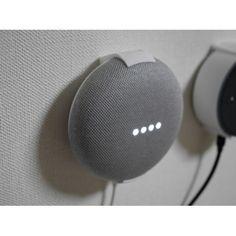 Google Home MiniやAmazon Echo Dotを3Dプリンターで壁掛け化。しかも買えます