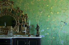 architectural digest wallpaper | Wall Paper Couture: Fromental Cocktail party at the Trump Soho | NYC ...