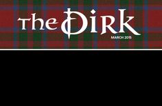 'The Dirk - March 2015' by jay  The official online publication of The Greenville Scottish Games!