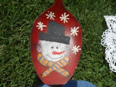 Check out this item in my Etsy shop https://www.etsy.com/listing/195794594/snowman-spoon-prim-painted-great-decor