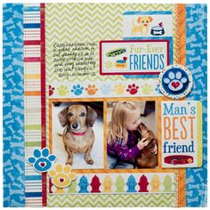 Mans Best Friend featuring Good Dog from Imaginisce - Scrapbook.com