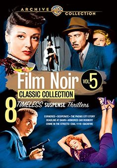 Film Noir Classic Collection: Volume Five Warner Archive ...