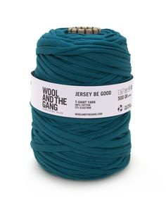 Jersey be Good #woolandthegang emerald green