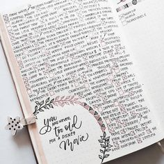 List of Disney Movies for yourBullet Journal Collections