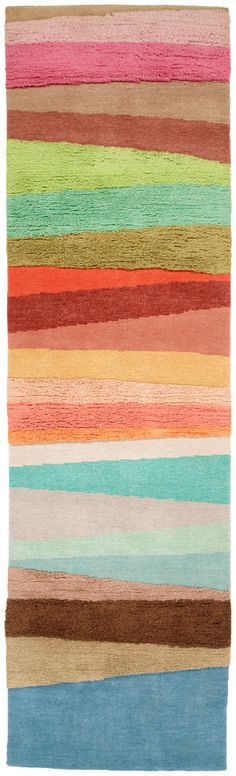 Doug and Gene Meyer rug - like this! Lots of really cute rugs by this company!