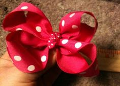 Sweetpeas and Kisses: The ULTIMATE Hair Bow Tutorial