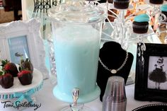 Tiffany-Inspired Party Punch
