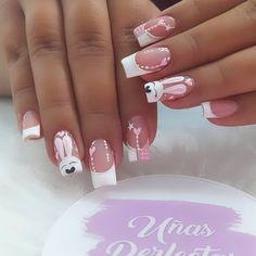Floral Thigh Tattoos, Best Nail Art Designs, Bling Nails, Matte Nails, Cool Nail Art, Manicures, Erika, Cuba, Finger Nails