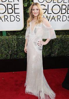 Drew Barrymore Golden Globes 2017
