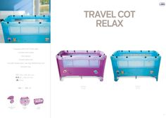 Travel Cot Relax by Asalvo l #madewithlove