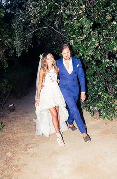 Erica Pelosini & Louis Leeman Get Married