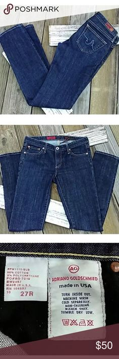 Adriano Goldschmied AG Stilt Jeans AG jeans in excellent condition from a smoke and pet free home Ag Adriano Goldschmied Jeans Straight Leg