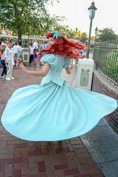 Ariel (Twirling at Disney World) #TheLittleMermaid