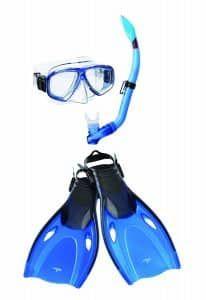 10. Speedo Adventure Mask Snorkel & Fin Set for Adults http://www.deepbluediving.org/tribord-easybreath-vs-ocean-reef-aria/