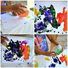 Salt Paint for #Kids