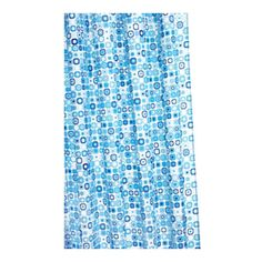 Found it at Wayfair - Geo Mosaic Polyester Fabric Shower Curtain