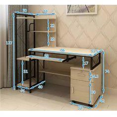 Steel Furniture, Home Decor Furniture, Industrial Furniture, Furniture Design, Home Office Setup, Office Wall Decor, Home Room Design, Home Office Design, Computer Desk Design
