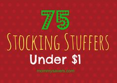 75+ Stocking Stuffers Under $1
