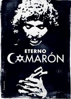 "Cartel para el espectáculo ""Eterno Camarón"" Print Templates, My Works, Folk, Spain, Dance, Musicians, Movie Posters, Paper, Music Illustration"