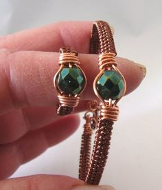Wire Wrapped Jewelry Ideas upon Latest Wire Work Jewelry Designs In Nigeria this Jewellery Shops In Italy rather Wire Pendant Jewelry Making out Jewellery Organizer Pouch Wire Jewelry Rings, Copper Jewelry, Fine Jewelry, Jewelry Making, Wire Earrings, Copper Wire, Beaded Rings, Antique Copper, Wire Wrapped Bracelet