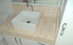 175 – Banheiro mármore Bege Bahia