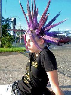 purple liberty spikes