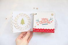 clear colours: Christmas mini album