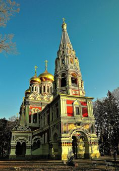 Shipka Memorial Church (or Shipka Monastery) was built between 1885 and 1902. Shipka, Bulgaria Copyright: Ani Stoynova