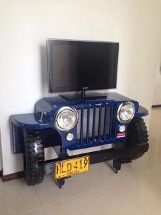 Réplica Willys 52 para TV