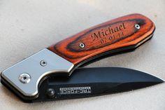 Gift for Groomsmen, Pocket Knife, Engraved Folding Hunting Knives, Groomsman Gift, Best Man Gift, Custom Knives, Rescue Knife, Personalized Knife. $22.99